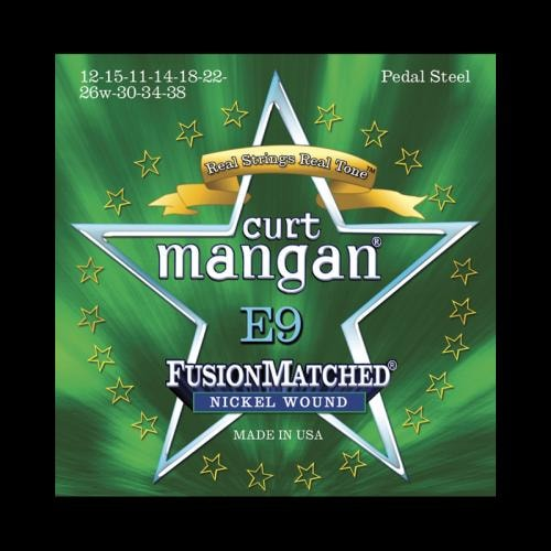 Curt Mangan Fusion Matched Nickel Wound Pedal Steel Strings (12-38)