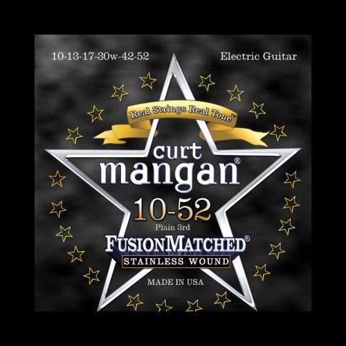 Curt Mangan Fusion Matched Stainless Wound Electric Strings (10-52)
