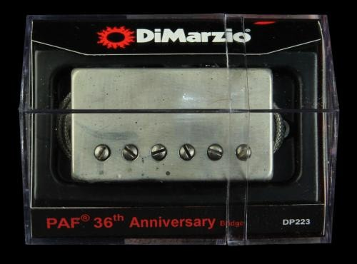 DiMarzio 36th Anniversary PAF Bridge Humbucker Pickup (Aged Nickel)