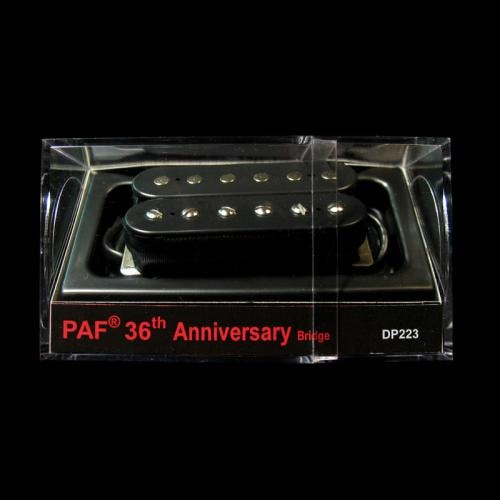 DiMarzio 36th Anniversary PAF Bridge Humbucker Pickup (Black)