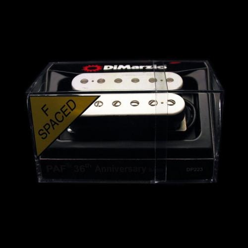 DiMarzio 36th Anniversary PAF Bridge Humbucker Pickup (White) F-Spaced