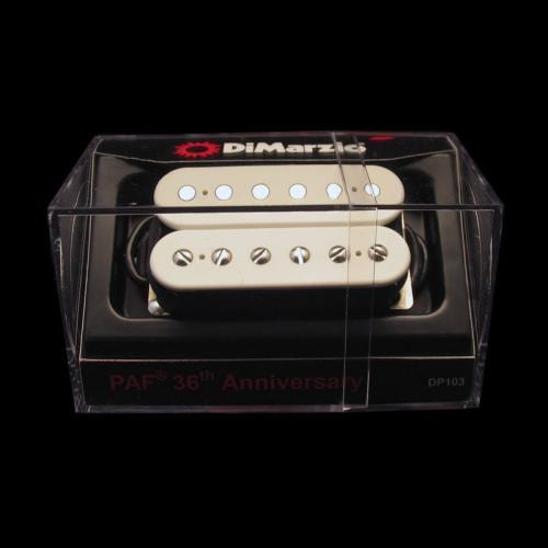 DiMarzio 36th Anniversary PAF Neck Humbucker Pickup (White)