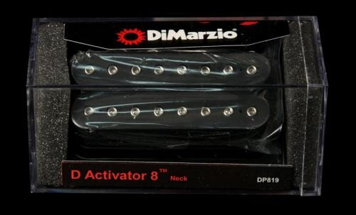 DiMarzio D Activator 8 Neck Humbucker Pickup (Black)