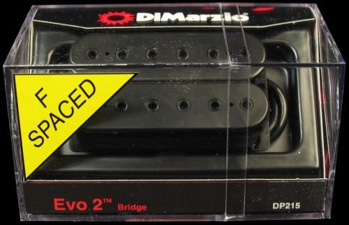 DiMarzio EVO 2 Bridge Humbucker Pickup (Black) F-Spaced
