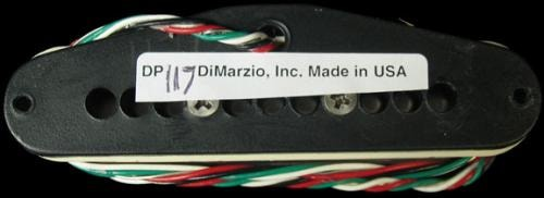 DiMarzio HS-3 Single-Coil Pickup (Aged White)