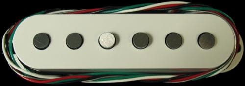DiMarzio HS-3 Single-Coil Pickup (White)