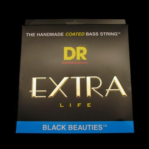 DR Black Beauties 6-String Bass Strings (Medium 30-125)
