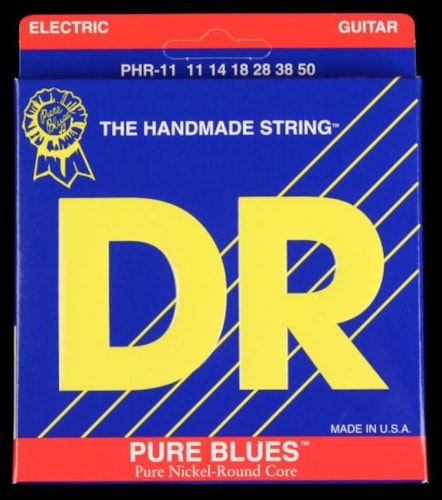 DR Pure Blues Electric Strings (Heavy 11-50)