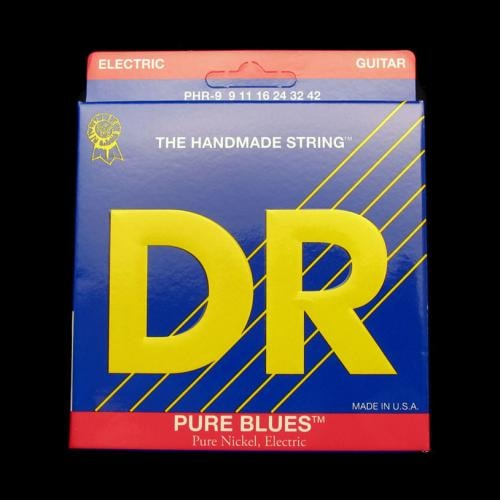 DR Pure Blues Electric Strings (Lite 9-42)