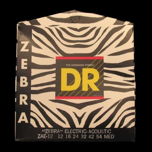DR Zebra Acoustic-Electric Strings (Medium 12-54)