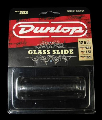 Dunlop 203 Glass Guitar Slide (Large)
