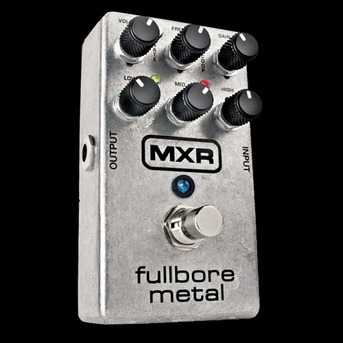 MXR Dunlop Fullbore Metal Distortion Effects Pedal