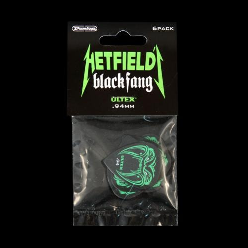 Dunlop James Hetfield Black Fang Picks w/ Tin (.94mm)