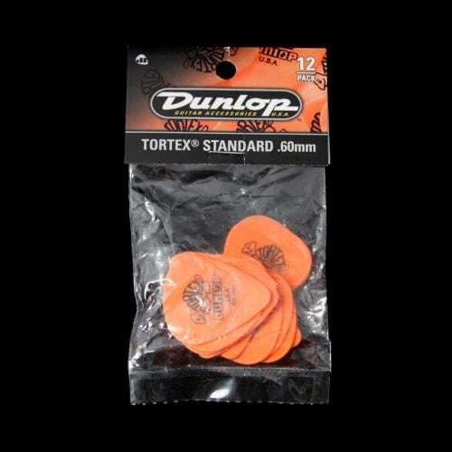 Dunlop Tortex Standard Picks (.60mm)