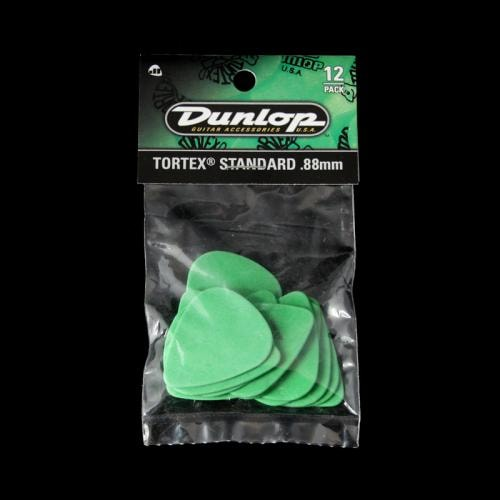 Dunlop Tortex Standard Picks (.88mm)