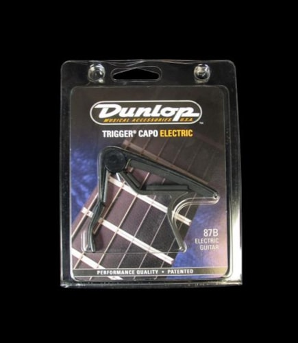 Dunlop Trigger Electric Guitar Capo (Black)