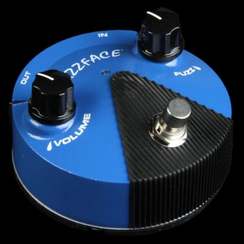Dunlop FFM1 Silicon Fuzz Face Mini Blue Pedal
