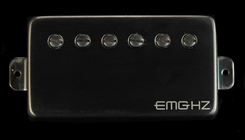 EMG H1-N Neck Humbucker Pickup (Brushed Black Chrome)