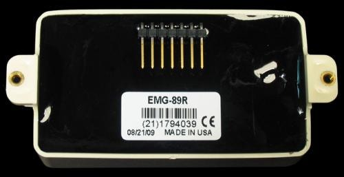 EMG 89R Reverse Wound Active Humbucker Pickup (Ivory)