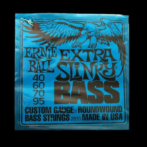 ERNIE BALL MUSIC MAN Ernie Ball Extra Slinky Nickel Wound Bass Strings (40-95)