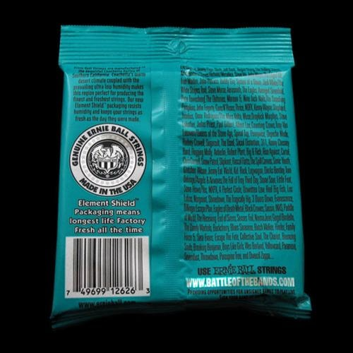 ERNIE BALL MUSIC MAN Ernie Ball Not Even Slinky Nickel Wound Electric Strings (12-56)