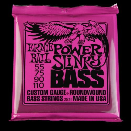Ernie Ball Power Slinky Round Wound Bass Strings (55-110)