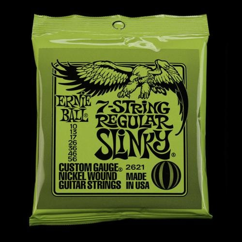 ERNIE BALL MUSIC MAN Ernie Ball Regular Slinky Nickel 7-String Set (10-56)