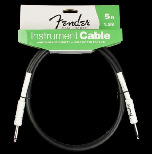 Fender® Performance Series Instrument Cable (5 Foot)