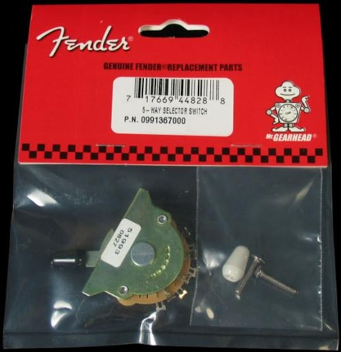 Fender® Stratocaster® 5-Way Pickup Selector Switch