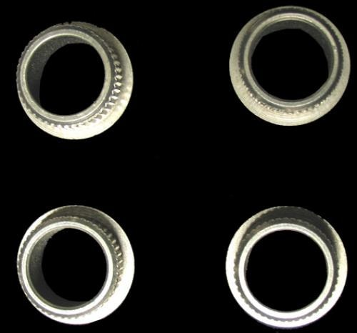 Fender® Vintage Bass String Post Bushing Set (Nickel)
