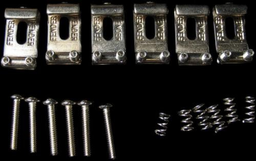 Fender Vintage Strat® Bridge Saddles