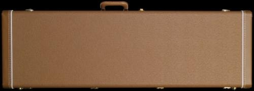 Fender® Deluxe Precision Bass® Case (Brown/Gold)