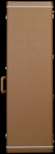 Fender Deluxe Precision Bass Case (Brown/Gold)