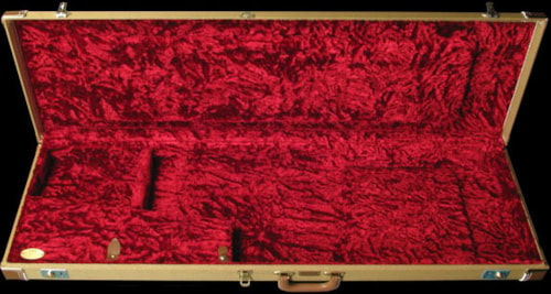 Fender® Deluxe Precision Bass® Case (Tweed/Red)