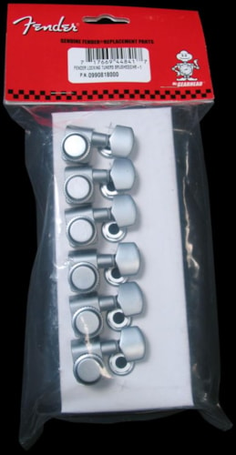 Fender Locking Tuning Machines (Brushed Chrome)