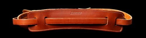 Gretsch® Vintage Walnut Leather Guitar Strap