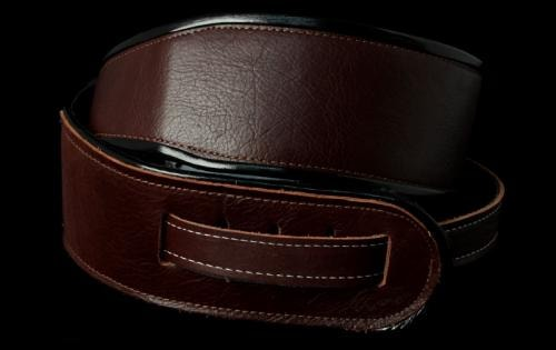 Jodi Head Leather Head Guitar Strap (Brown)