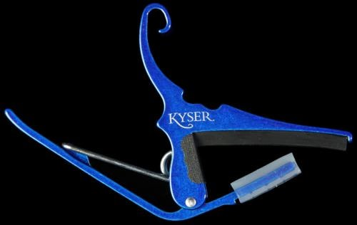 Kyser Quick Change Capo (Blue)