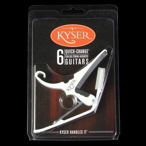 Kyser Quick Change Capo (White)