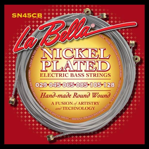 La Bella Slappers 6 String Electric Bass Strings (29-128)