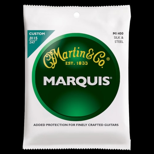 Martin Marquis Silk & Steel Folk Strings (.0115-.47)