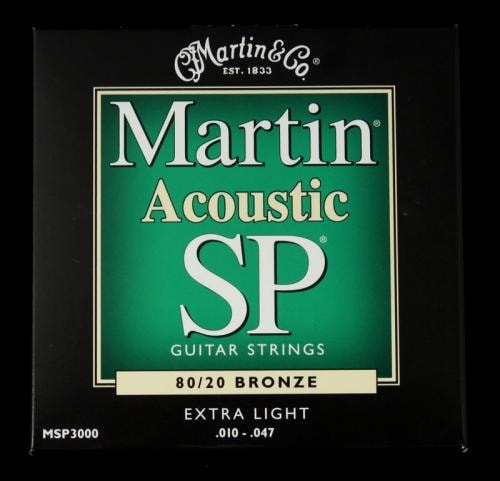 Martin SP 80/20 Bronze Acoustic Strings (Extra Light 10-47)