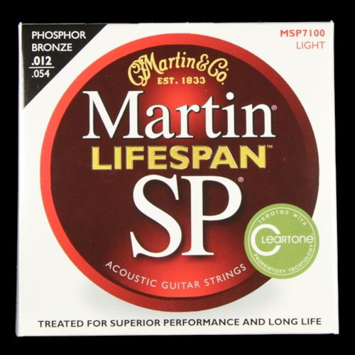 Martin SP Lifespan Phosphor Bronze Acoustic Strings (Light 12-54)
