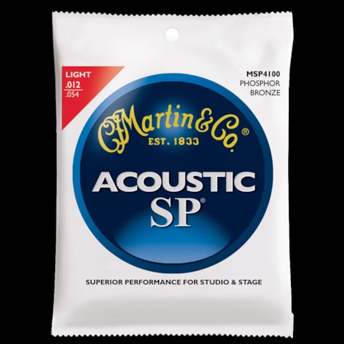 Martin SP Phosphor Bronze Acoustic Strings (Light 12-54)