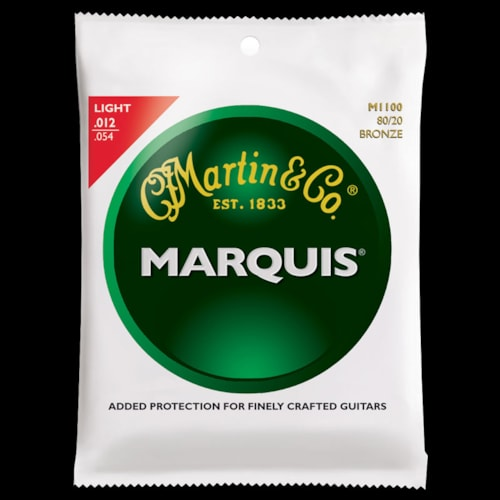 Martin Marquis 80/20 Bronze Acoustic Strings (Light 12-54)