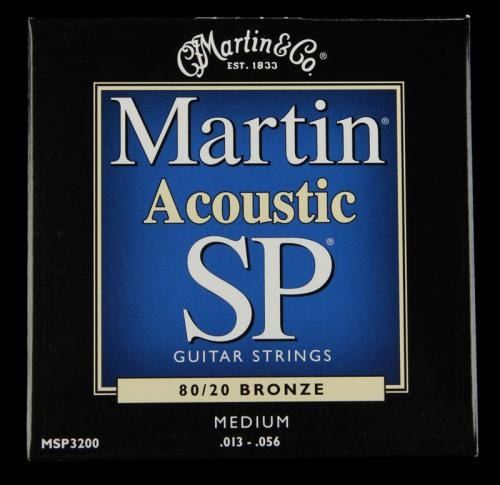 Martin SP 80/20 Bronze Acoustic Strings (Medium 13-56)