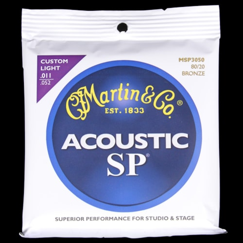 Martin SP 80/20 Bronze Acoustic Strings (Custom Light 11-52)