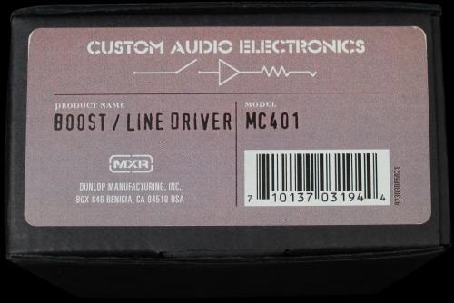 MXR Custom Audio Electronics Boost/Line Driver Pedal