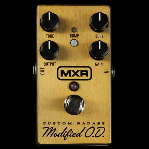 MXR Custom Badass Modified Overdrive Pedal