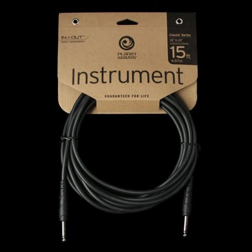 Planet Waves Classic Series Instrument Cable (15 Foot)